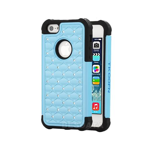 Iphone 5 5s Se 5c Softcase Fashion 1 for iphone 5 5s 5c heavy duty soft hybrid 3d bling cover shell ebay