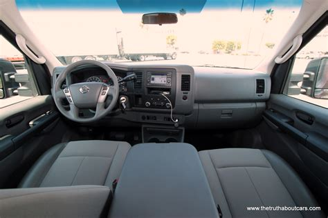 commercial week day one review 2012 nissan nv 2012 nissan nv 3500 quot high top quot cargo van interior driver s side picture courtesy of alex l