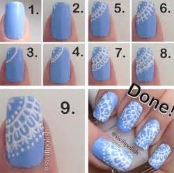 step by step winter nail art tutorials 2013 2014 for
