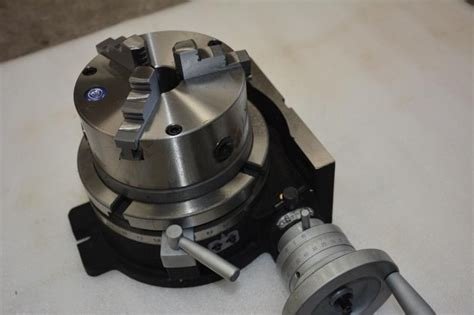 hv rotary table indexing head vertical horizontal