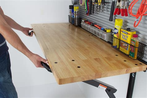 fold away work bench foldable garage workbench top 5 gifts for guys 2015