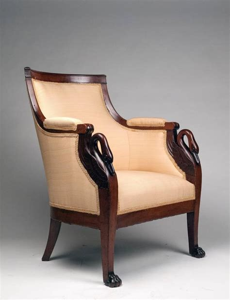 Swan Armchair by Armchair With Carved Swan Motif For Sale At 1stdibs