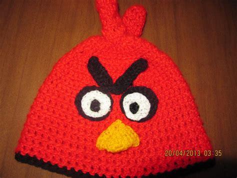 gorros de angry birds apexwallpapers com gorro tejido de angry birds imagui