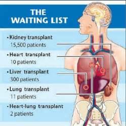 new 1 organ transplant statistics