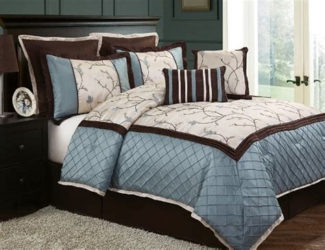Aqua And Brown Bedding by Aqua Turquoise Blue And Brown Bedding