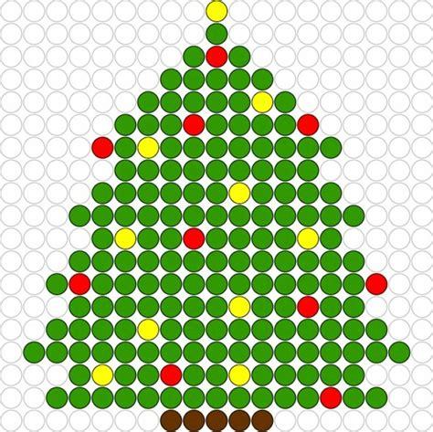 christmas tree perler bead pattern christmas crafts