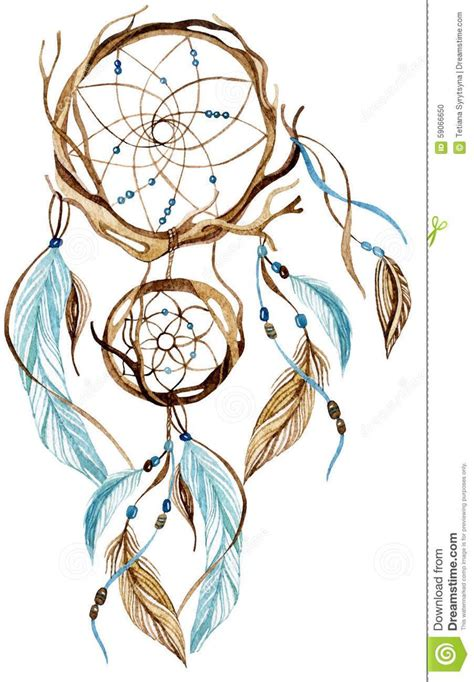 dreamcatcher watercolor tattoo 77 best dreamcatcher images on catchers