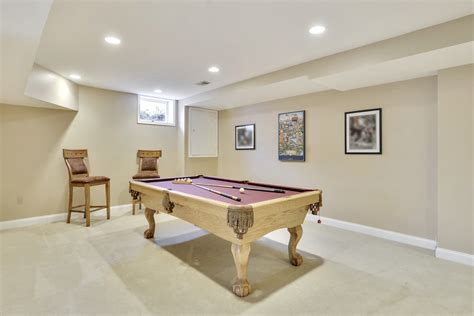 this archetypical 50 s rec room basement features the home for sale in arnold md