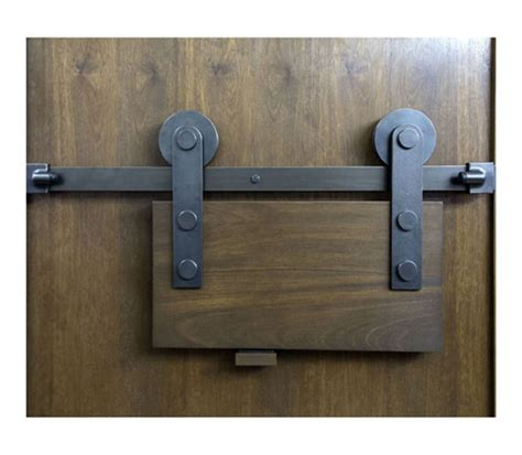 Double Sliding Barn Door Lock John Robinson House Decor Locking Barn Door Hardware