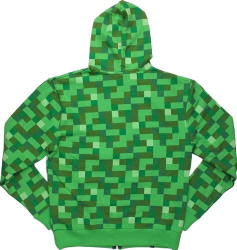 Sweater Zipper Hoodie Minecraft Jaket Hoodies Minecraft minecraft creeper suit hoodie