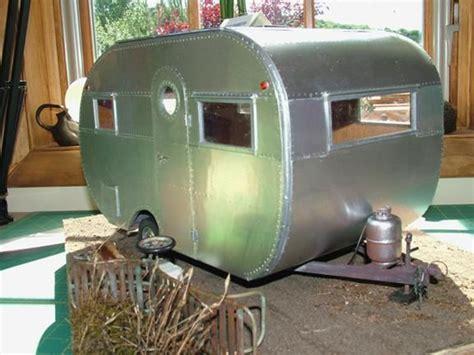 dollhouse trailer miniature cer dollhouse caravan and trailer
