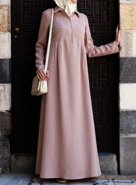 Gamis Abaya Maxi Zara Pink tencel amina abaya and lightweight islamic dress