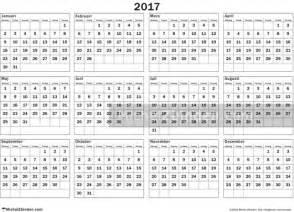 Paraguay Calendrier 2018 Kalender 2017 Sverige