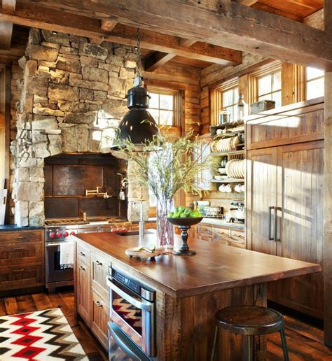 Rustic Modern Kitchen Ideas Kitchen Designs Photo Gallery Rustic Comfort And Class Rustic And Modern Home Design For