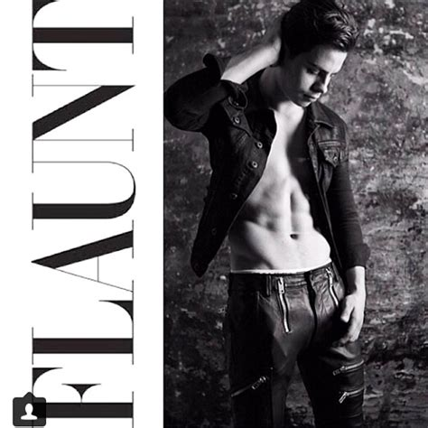 Jake T 2014 Jake T Flaunts His Abs In New Issue Of
