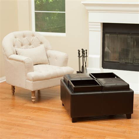 living room tray storage ottoman with tray porch with beadboard ceiling brick ranch beeyoutifullife