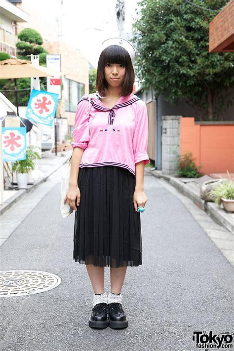Bag Bodyline 001 Pink pink sailor in g2 cap line shoes