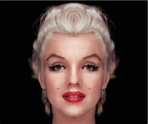 marilyn monroe face face to face with marilyn monroe ripples
