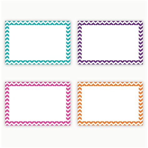 8 5 x 5 5 fancy card border polka dot templates border index cards 4x6 blank 75ct chevron top3553 top