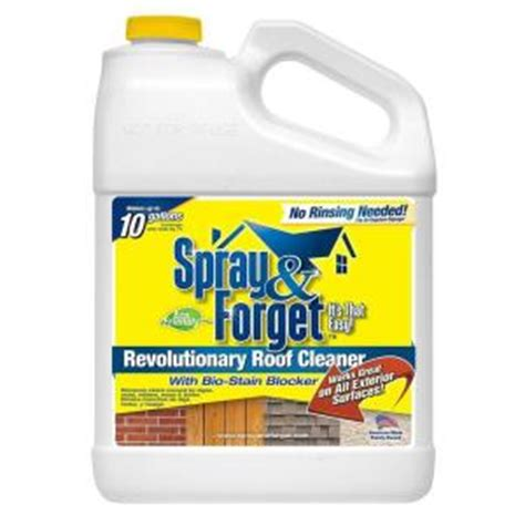 home depot paint eco friendly spray forget 1 gal concentrated no rinse eco friendly