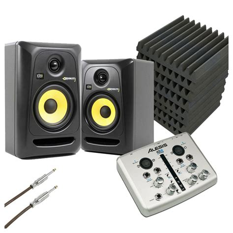 disc krk ultimate home studio bundle gear4music