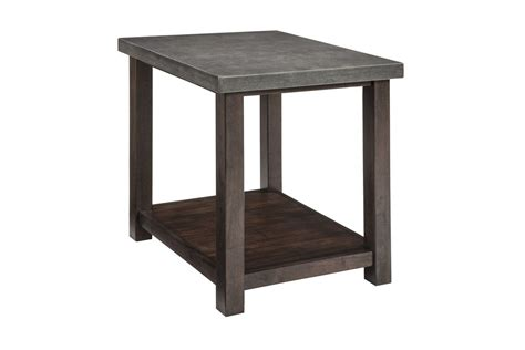 pictures of yellow end tables with gray starmore chair side end table in gray brown by ashley fdrop 170109