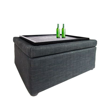 gray ottoman coffee table ottoman coffee table grey furniture home d 233 cor fortytwo