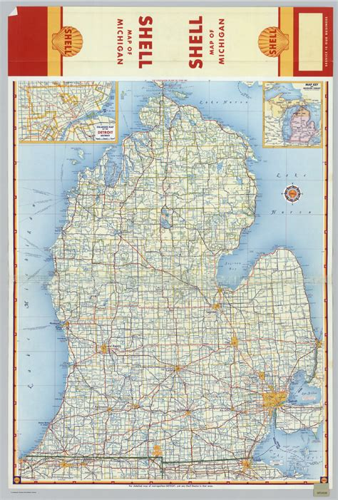 michigan highways map michigan highway map images