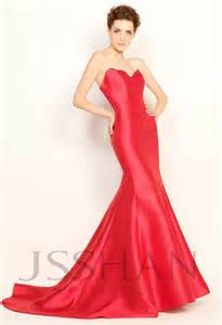 gorgeous red mermaid dress best dress choice