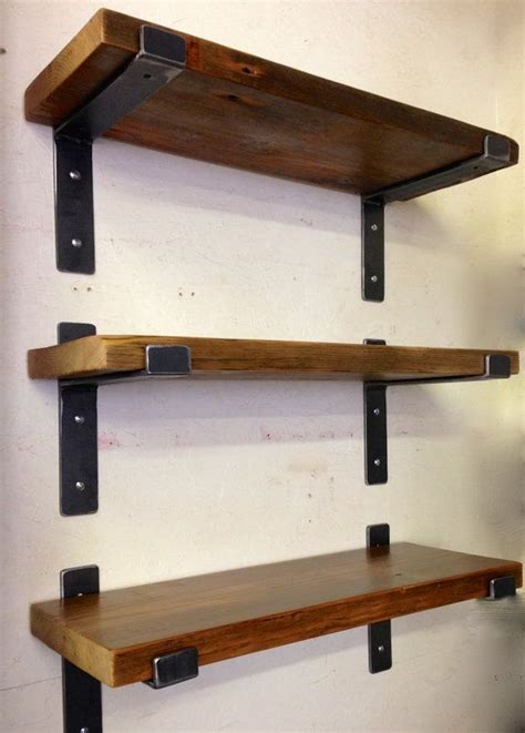 wood brackets for shelves muebles estanterias vilma wood bookshelves steel and woods