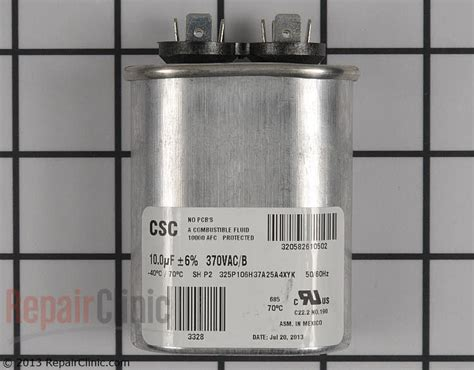 ltec capacitor datasheet york air conditioner parts capacitor 28 images test listing 3 york luxaire coleman 7 5 uf