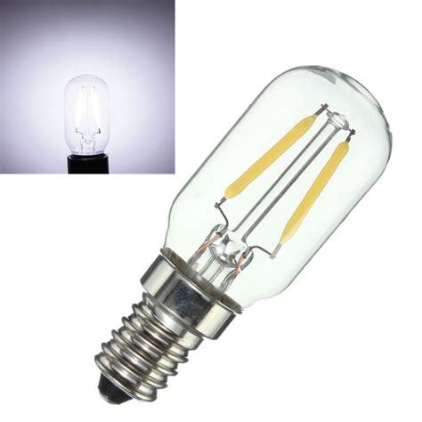 refrigerator led light bulb e14 2w vintage edison cob led l bulb refrigerator
