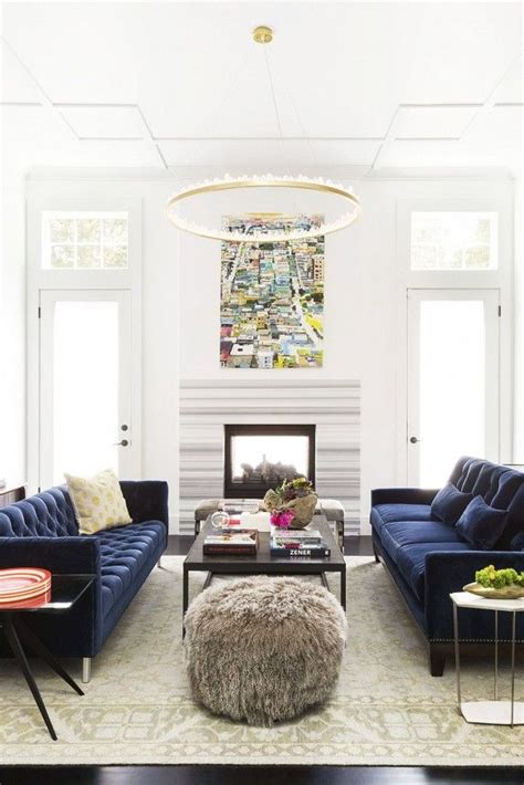 how to decorate with different shades of blue decorilla 21 different style to decorate home with blue velvet sofa