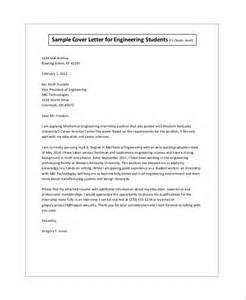 Student sample cover letter