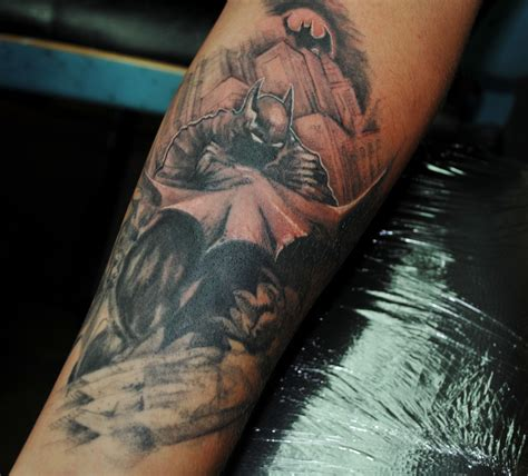 batman tattoo scene batman tattoos designs ideas and meaning tattoos for you