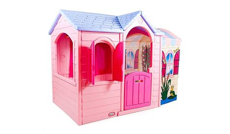 little tikes playhouse with slide and swings little tikes princess garden playhouse swings slides