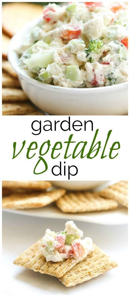 Garden Vegetable Dip Six Sisters Stuff Garden Vegetable Dip