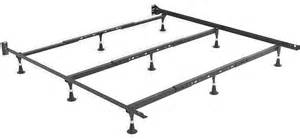 King Bed Frame Heavy Duty Heavy Duty 9 Leg Bed Frame Fits King And