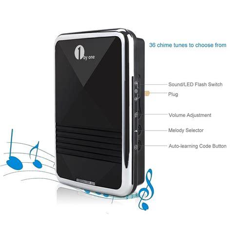 1byone easy chime wireless doorbell door chime kit 2