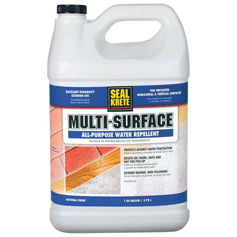 seal krete  multi surface  purpose water