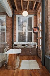 Vintage industrial bathroom design 2