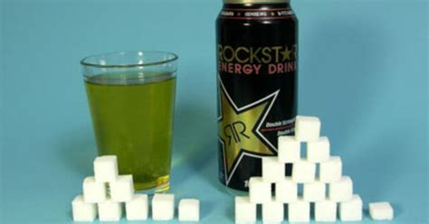 8 oz energy drinks rockstar energy drink 8 oz 240 ml serving sugars total