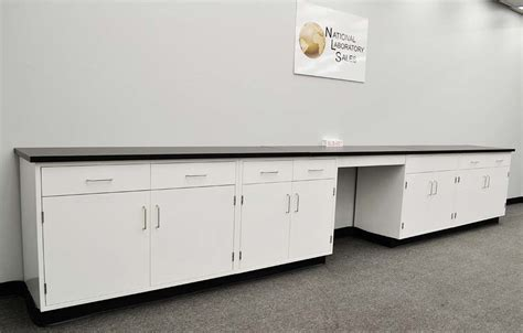 Desk Cabinets Base Desk by 17 Fisher American Base Laboratory Cabinets With Desk