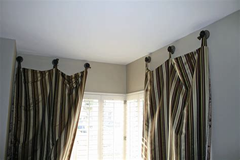 alternative curtains our embellished life alternative to a curtain rod