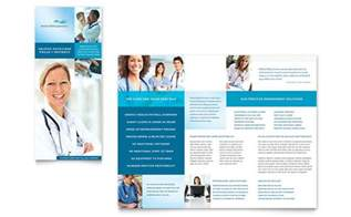 health care brochure template billing coding tri fold brochure template design