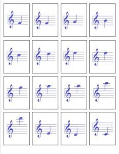 printable music note value flash cards 72 best images about flute music books on pinterest