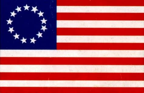 american revolution flag 1776 something like a sandwich the lost cause