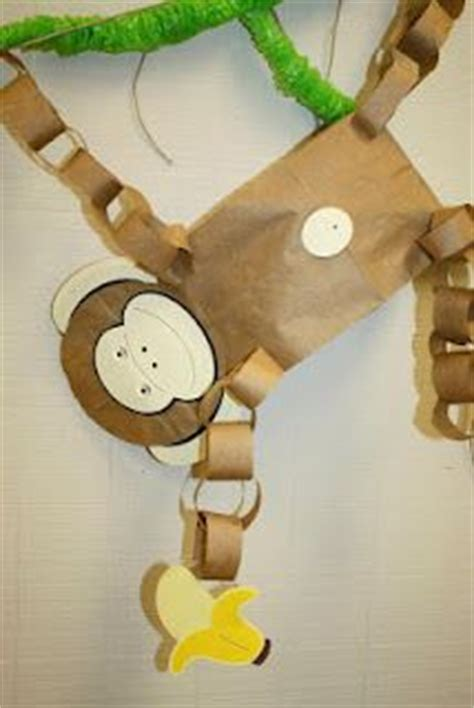 paper bag monkey craft 17 best images about paper bag crafts on