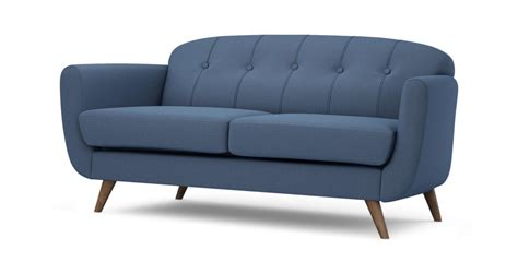ebay dfs sofa dfs laze blue fabric large sofa ebay