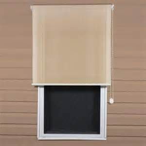home depot window shades coolaroo select southern sunset 90 uv block exterior